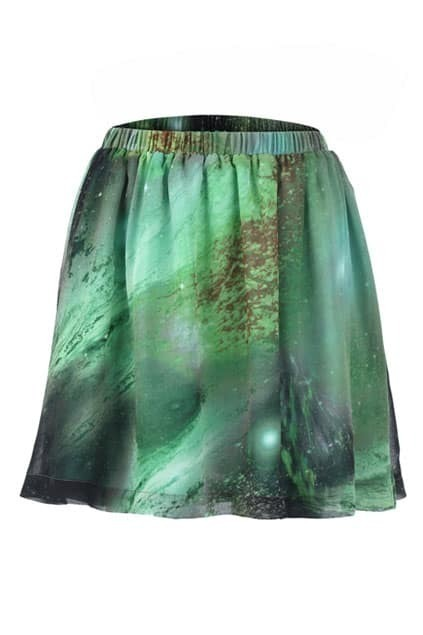 Starry Design Light Weight Skirt