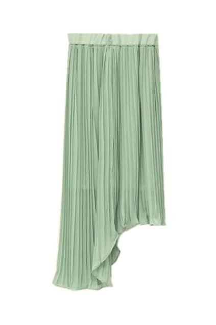 Bouffancy Two-ways Light-green Skirt