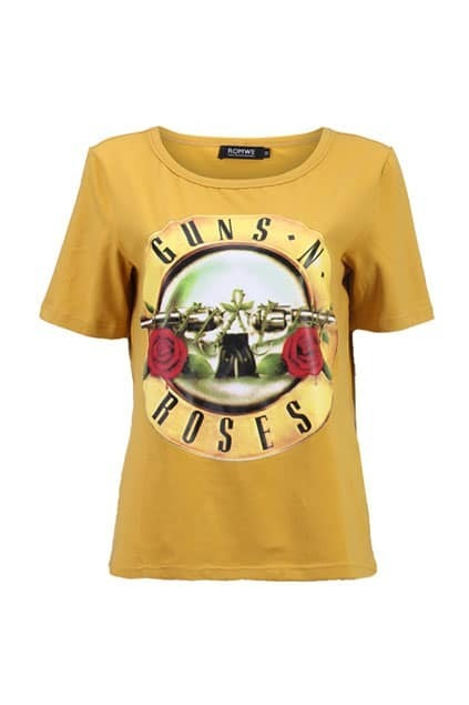 Guns N Roses Yellow T-shirt