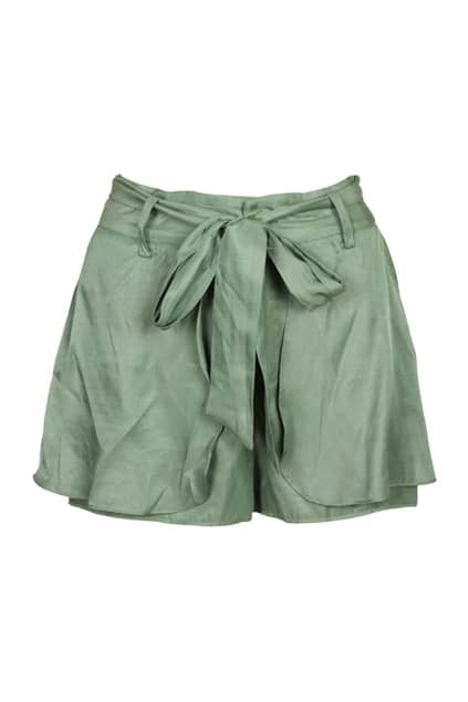 Double Layer Green Shorts