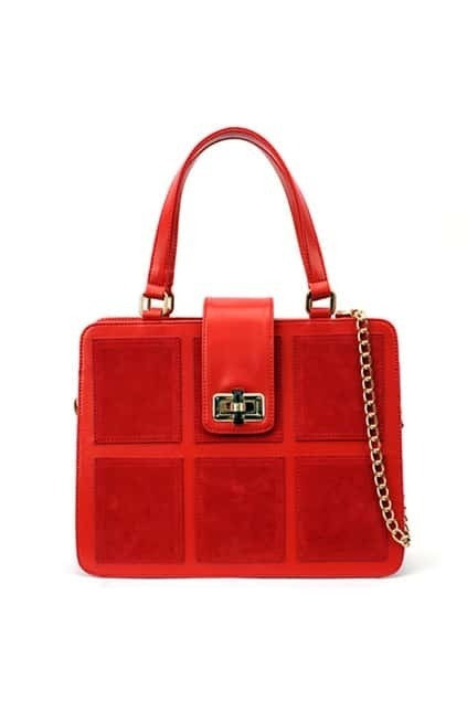 Julirtte Red Mail Bag