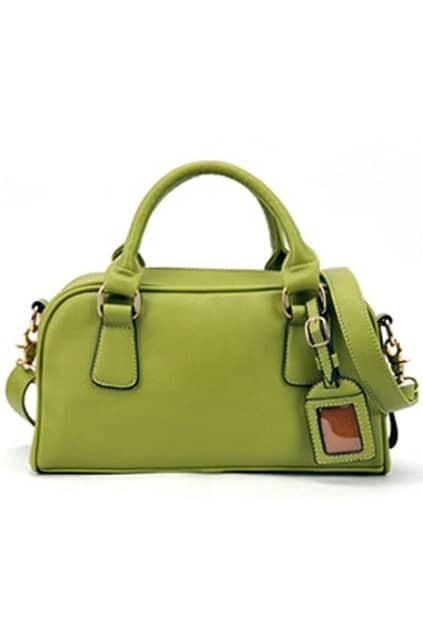 European Style  Green Handle Bag