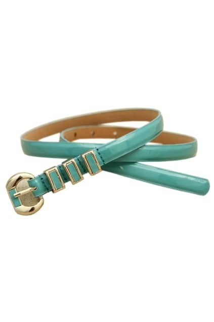Light Blue Slim Waist Belt