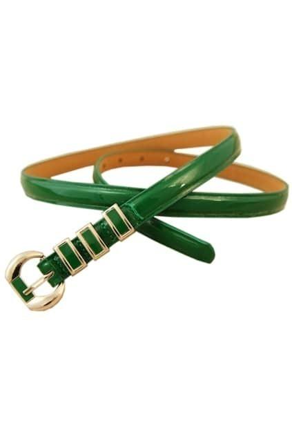 Green Slim Waist Belt
