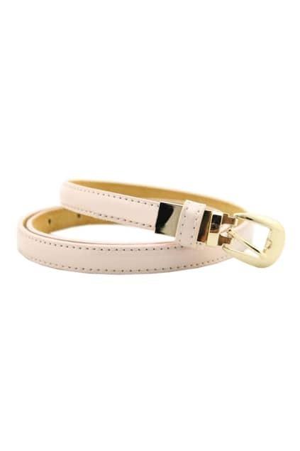Slim Light Pink Stitching Waist Belt