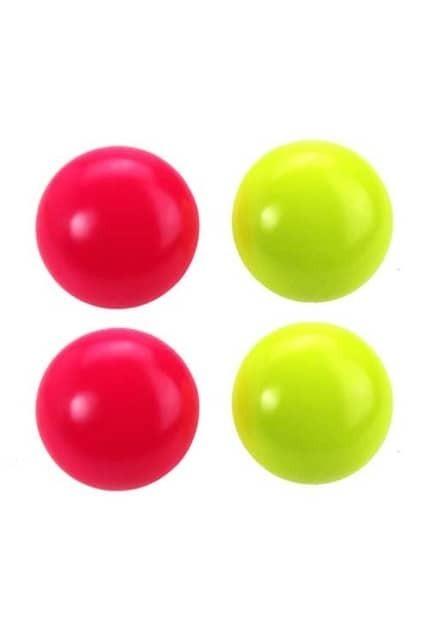 Neon Color Ball Earrings