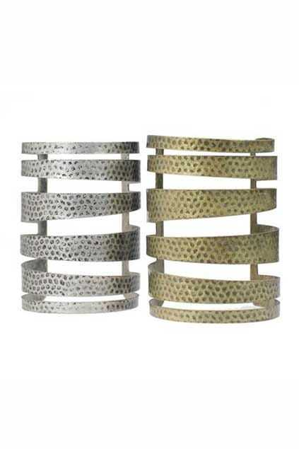 Dots Strip Hollow Out Bracelet