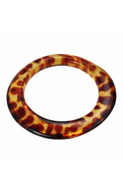 Leopard Amber Bracelet
