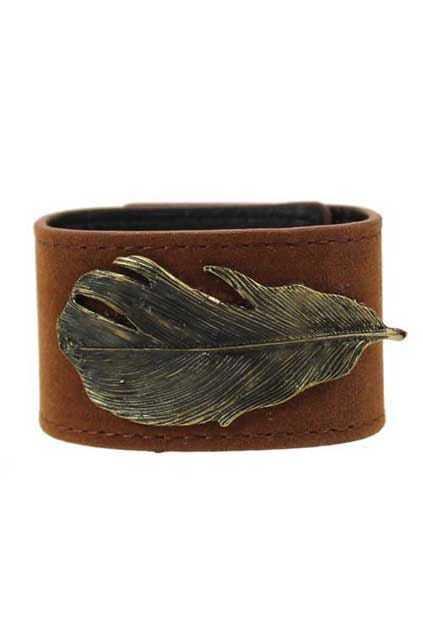 Belt Shape Leaf Bracelet