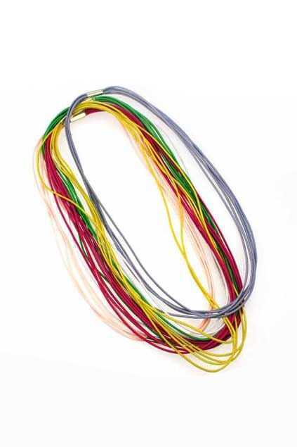 Neon Color Elastic Hair Band
