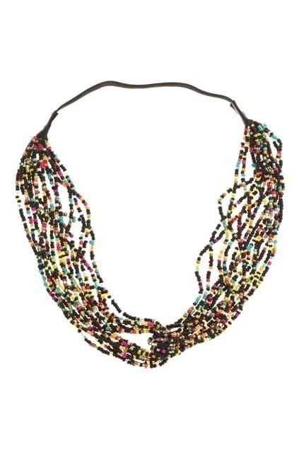 Multi-color Beads Headband