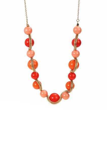 Colorful Round Balls Necklace
