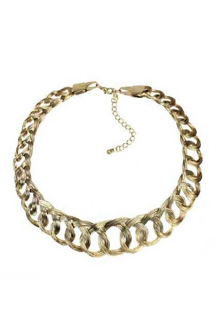 Chunky Chain Golden Necklace