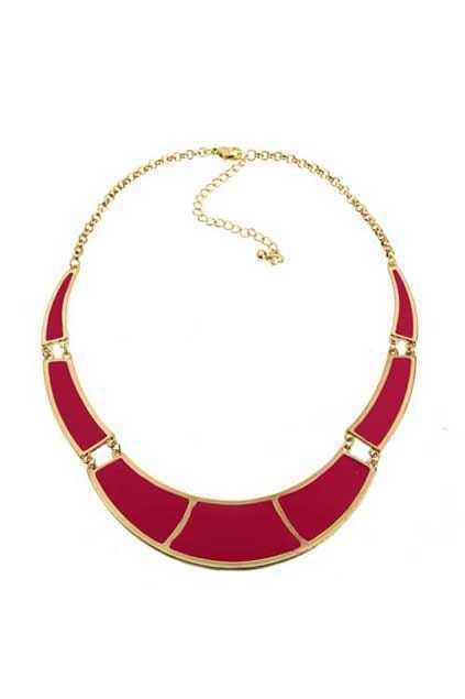 Neon Color Pieces Necklace