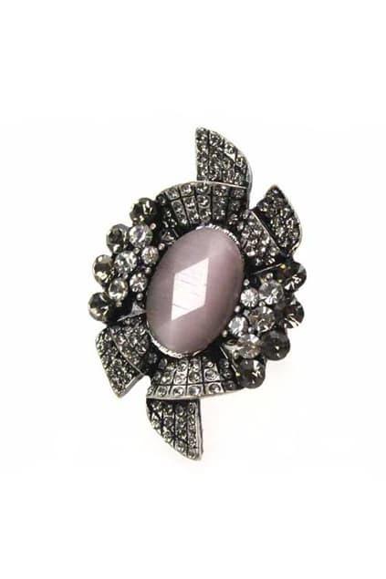 Diamond Black Ring