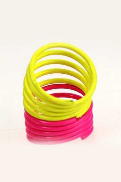 Neon Colors Multilevels Ring