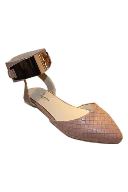 Metal Vervel Check Pink Sandal