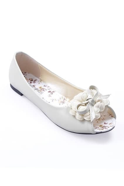 Flat Heel Off-white Shoes