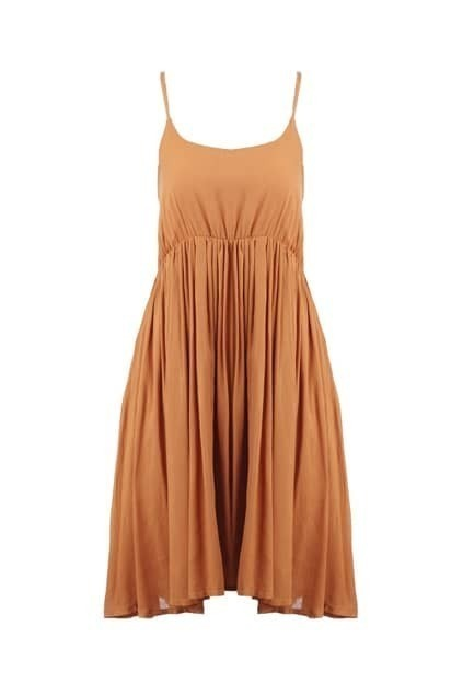Sleeveless Ginger Strap Dress