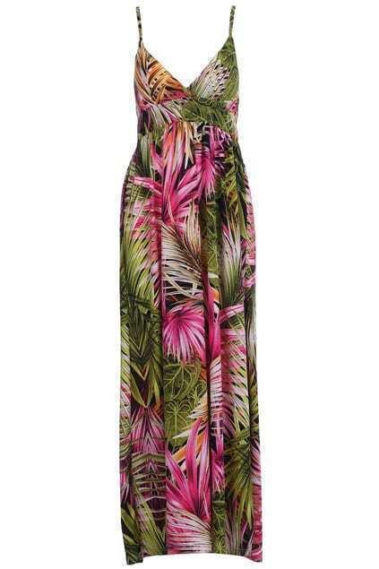Tropical Flower Longline Dress