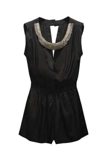 Diamond Necklace Black Dress