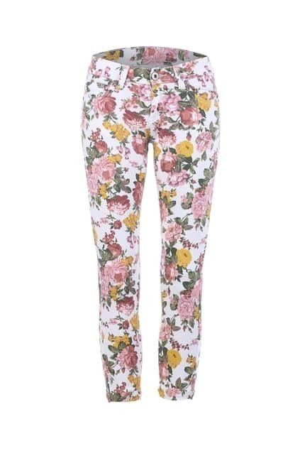 All-over Floral Print Pants