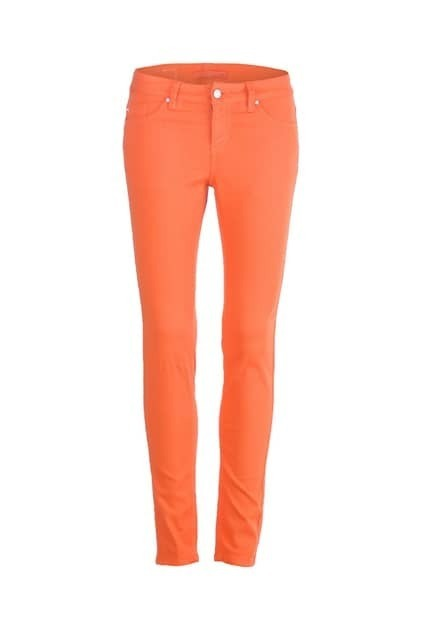 Candy Orange Skinny Pants