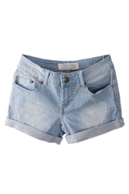 Oversized Retro Slim Deep-colour Shorts