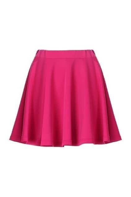 Rose Jersey Skater Skirt