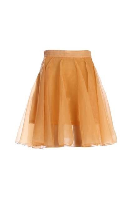 Sheer Mesh Ginger Skirt