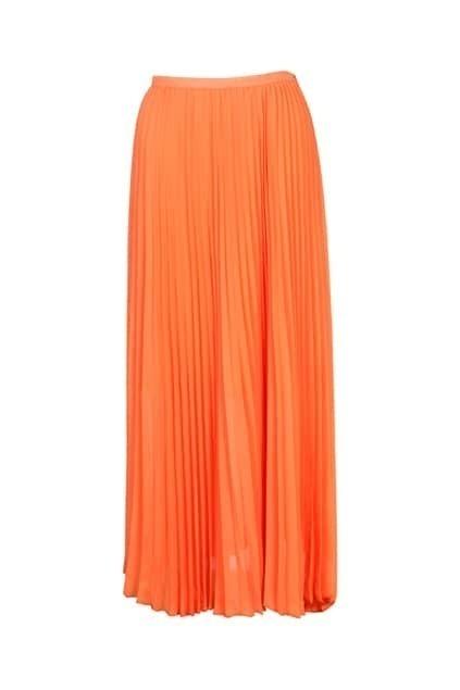 Elegent Bouffancy Orange Skirt