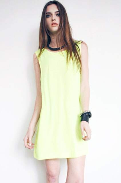 Hollow Oversized Longline Green T-shirt