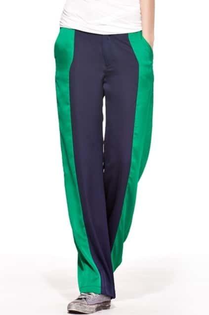 Color Block Slim Pants