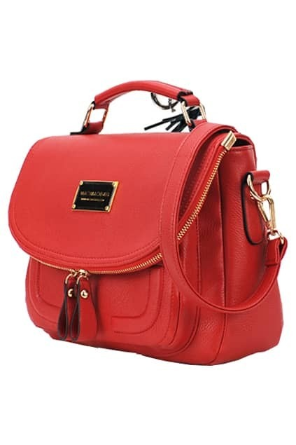 Candy Color Retro Rose Bag