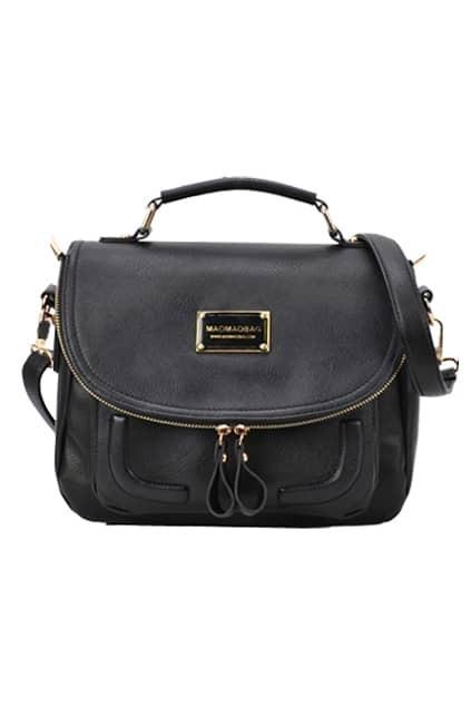 Candy Color Retro Black Bag