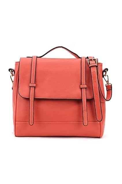 Retro Style Watermelon-red Briefcase