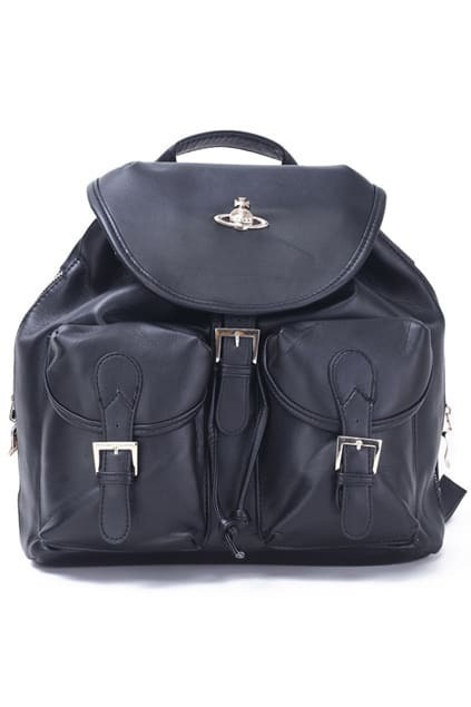 Leather-look Classic Backpack