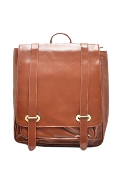 British Style Brown Backpack