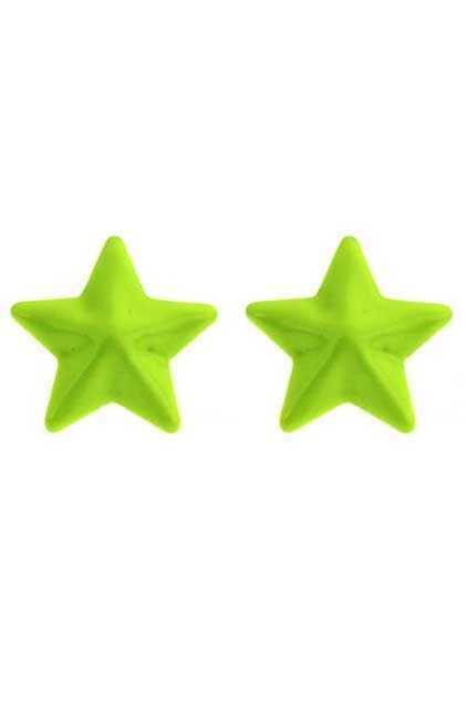 Neon Fivestar Earrings