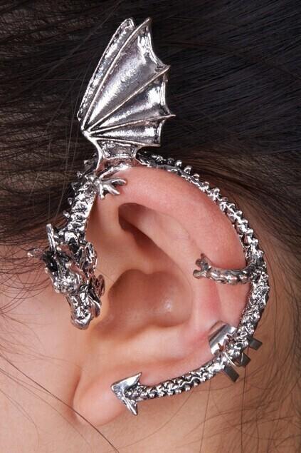 Single Dragon Earring Hook