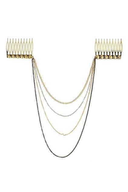 Golden Tassel Comb