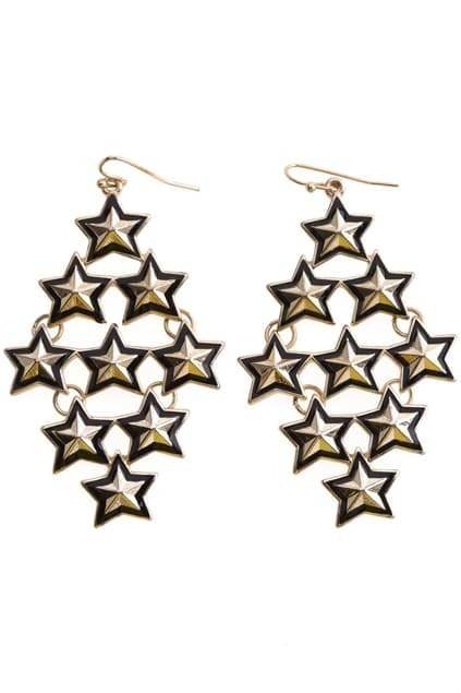 Multi-stars Drop Earrings