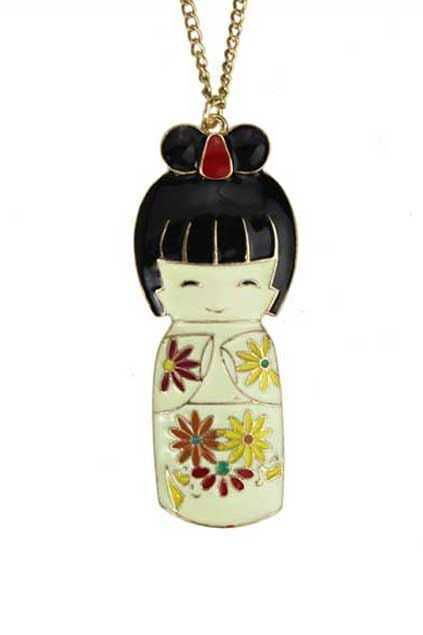Japanese Girl Necklace