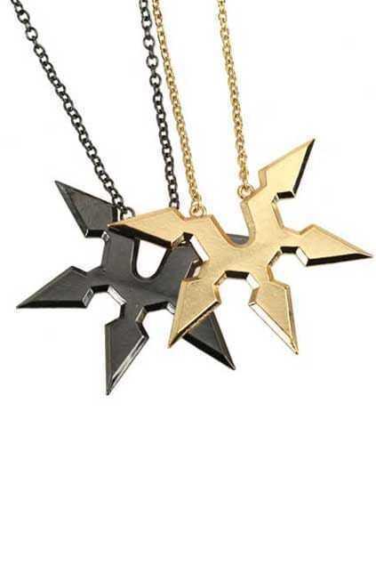Boomerang Pendant Necklace