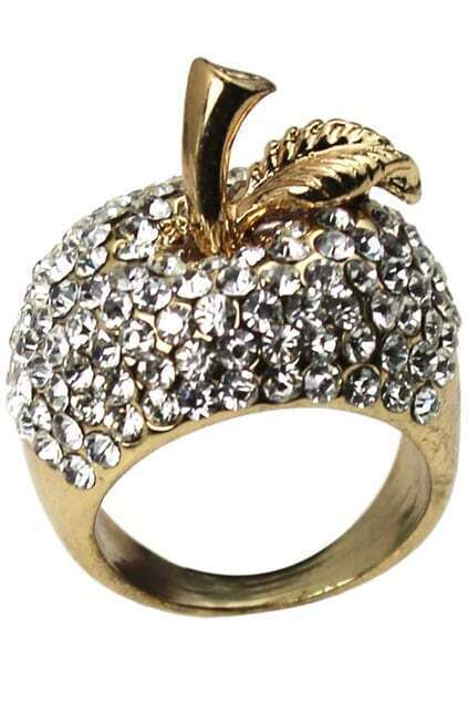 Crystals Apple Golden Ring