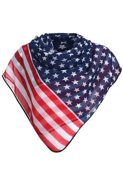 US Flag Lightweight Scarf