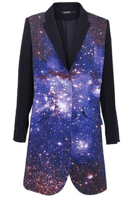 Universe Print Coat