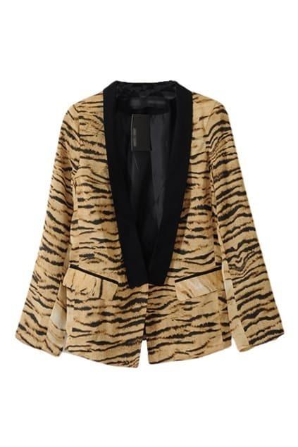 Tiger Vein Print Suit