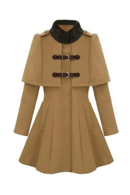 Royal Court Style Band Collar   Coat