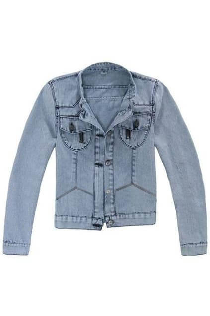 Retro Denim Coat